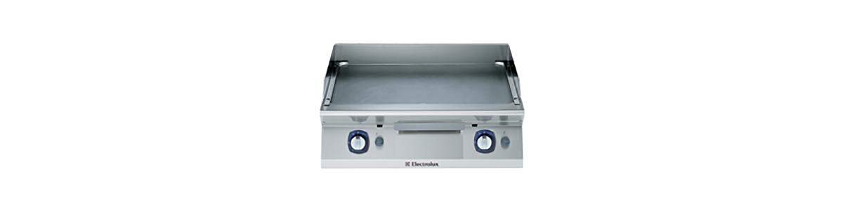 27_GAS ELECTRIC FRY TOP-SMOOTH PLATE