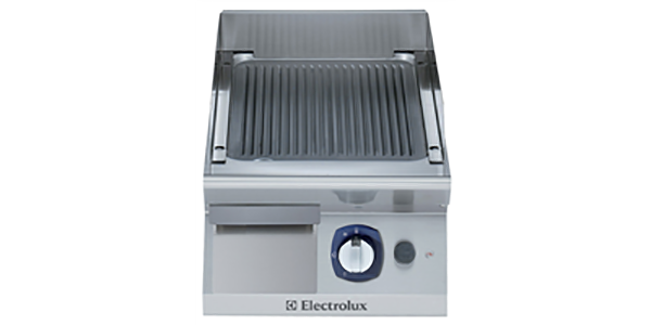 28_GAS ELECTRIC FRY TOP-RIBBED PLATE